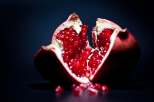 Pomegranate... free image from shutterstock_67434730