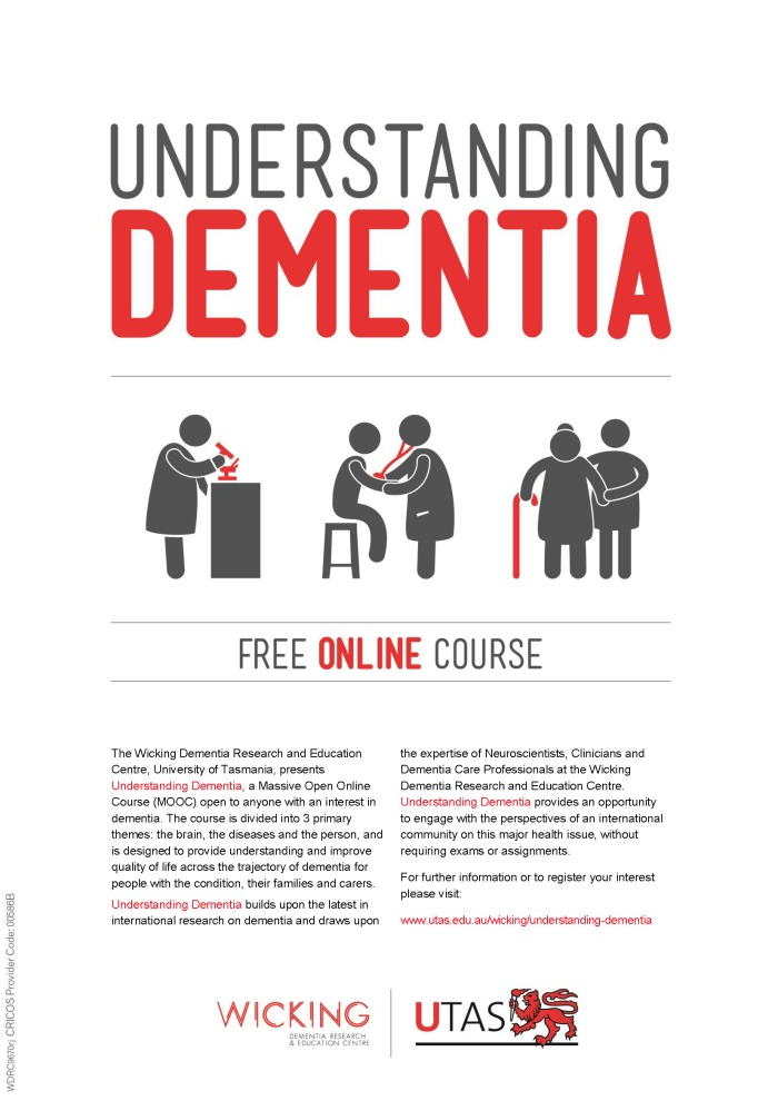 Understanding Dementia MOOC Poster