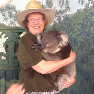 Gill and Koala Blair