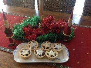 Virtual Christmas party food
