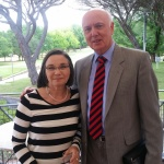 Glenn Rees and Kate Swaffer: Alzheimer's Australia Christmas Party 2014