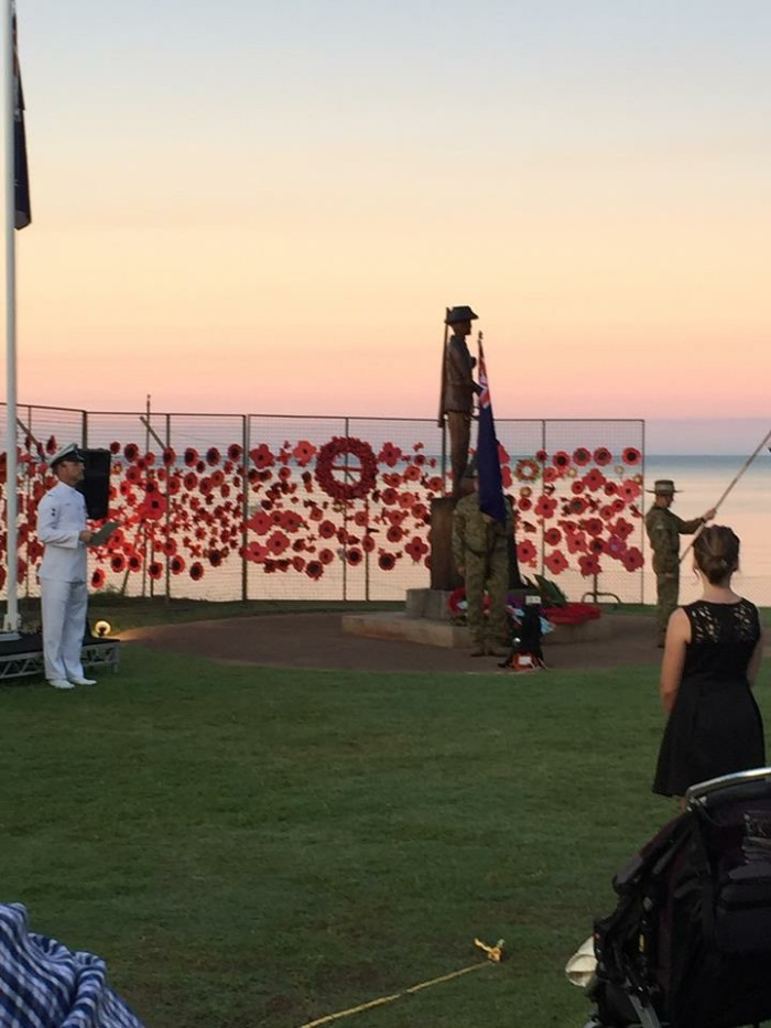 Anzac Day Groote Island 2015