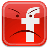 FB unhappy face