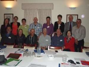 Inaugural members of the Australian Dementia Working Group