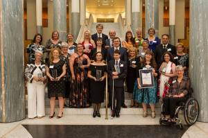 National Disability Award Winners 2015