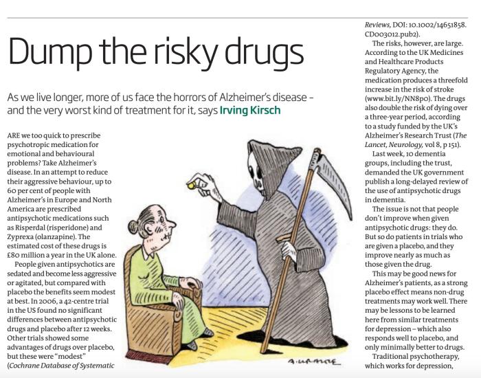 Dump the risky drugs